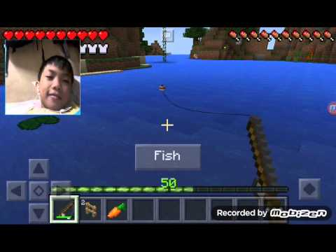 Minecraft Pocket Edition|fishing a bow|#10