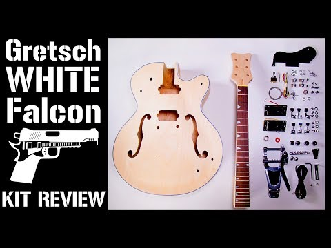 Gretsch Falcon DIY Kit Review from TheFretwire or Pit Bull Guitars