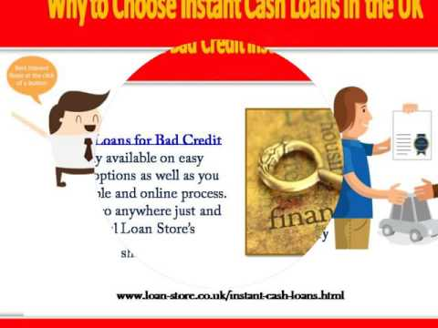 Instant Cash Loans for Bad Credit in the UK