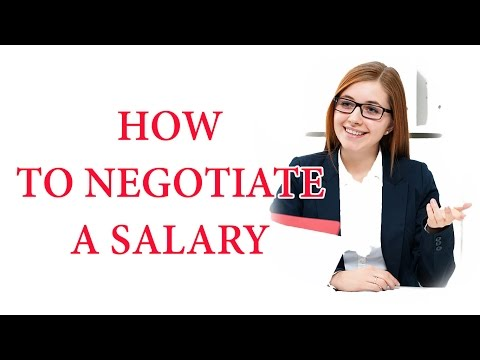 How To Negotiate A Salary 📈💲💰💸💵