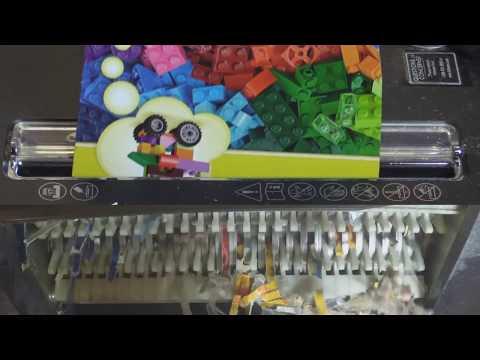 Reverse shredding packaging 3