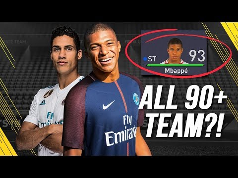THE BEST POSSIBLE TEAM IN FIFA 18 CAREER MODE!!!   2022 SEASON IN CAREER MODE