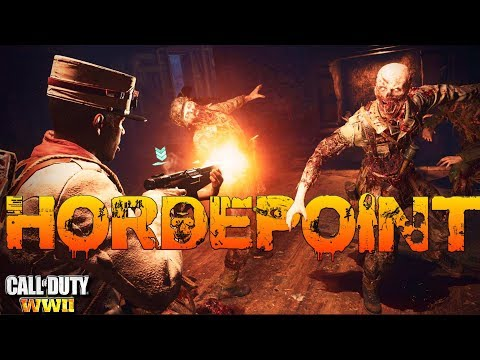 HORDEPOINT GAMEPLAY in CALL OF DUTY WWII