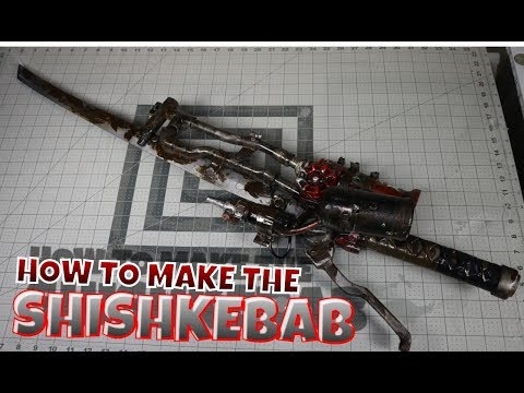 How to make the Shishkebab from  Fallout 4