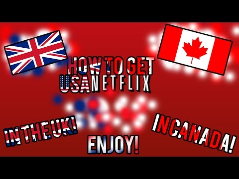 HOW TO GET AMERICAN NETFLIX APP ON YOUR XBOX IN THE UK AND CANADA! (SHORT SIMPLE VOICE TUTORIAL!)