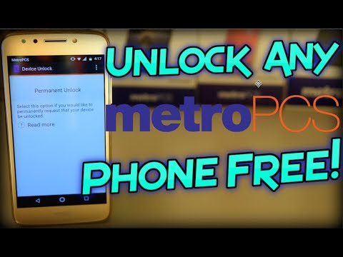 Unlock Any Metro PCS Phone Free