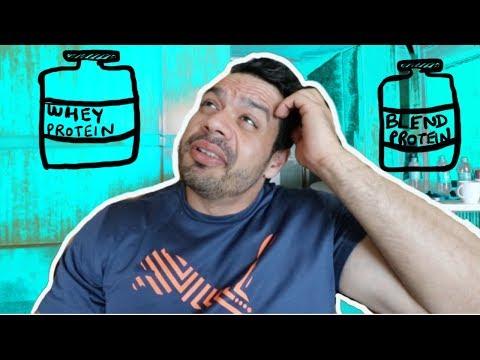 Whey Protein vs Blend Protein