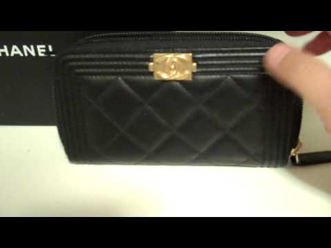 e4c64e34e5e5 Wallet Boy Chanel / Wallet Boy