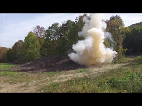 Drone IED Detection & Explosion.