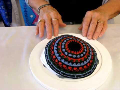 Crocheted Kippah