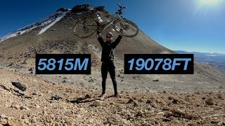 Cycling Up The Highest Road In The World // CyclingAbout The Americas [EP.5]
