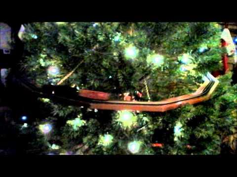 Christmas Tree N-Gauge Train