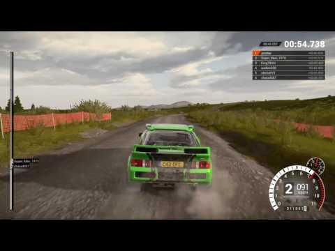 DiRT 4 gameplay Rally Ford RS200