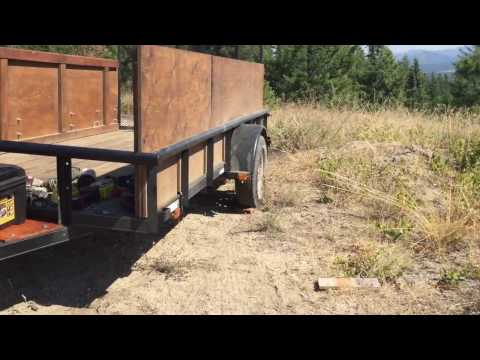 Off The Grid Project Episode #23 - Utility Trailer Modification