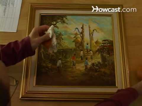 How to Clean a Painting