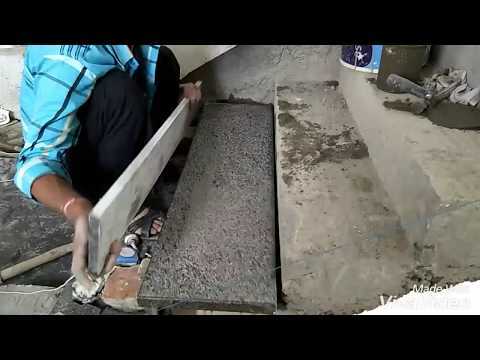 How to build granite stairs