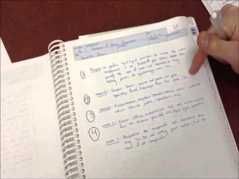 Steven Houtschilt & Soumith Inturi - How to Prepare a Lab Notebook