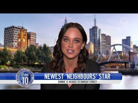 Bonnie Anderson Prepares For 'Neighbours' Debut | Studio 10