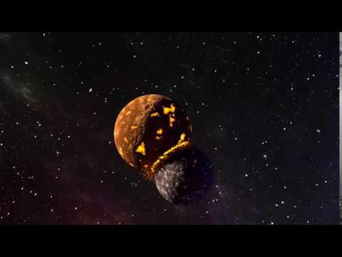 Planets Collision - Blender Animation