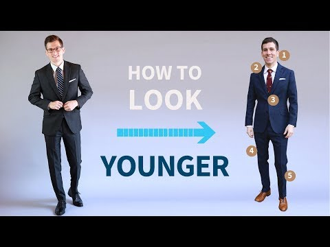5 Simple Ways to Look Younger...or Older | Men's Style and Grooming Tricks
