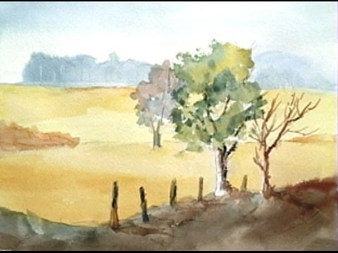 Paint Along with Larry Hamilton - June 3-5-2014-Watercolor Workshop Lessons -1-3