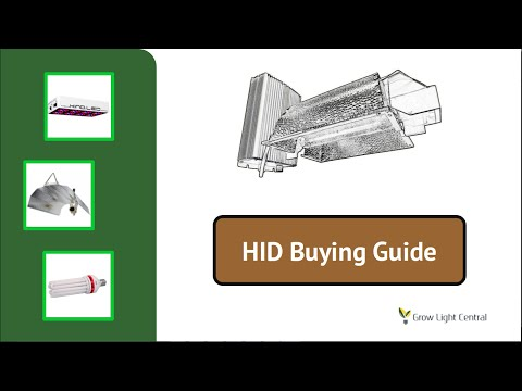HID Grow Light Buying Guide - Choosing The Best HPS Plant Light For You