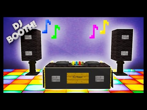Minecraft - How To Make A DJ Booth