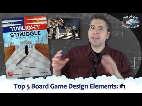 Top 5 Board Game Design Elements: #1