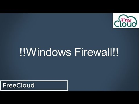 Understand Windows firewall&how to Disable or enable and configure it on local computer or via Group