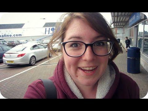 FERRY RIDE TO DUBLIN | Ireland (Travel Vlog 377-378)