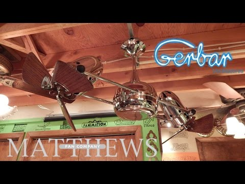 Matthews-Gerbar Duplo Dinamico Ceiling Fan