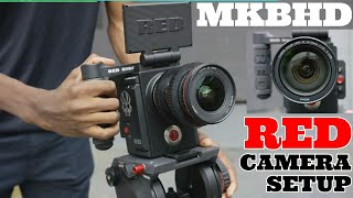 MKBHD red cameras setup - very expensive new tech gadgets by Marques Brownlee - music - SCREENSHOTZ