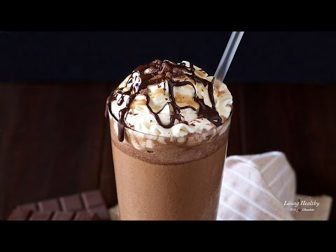 Starbucks Mocha Frappuccino Recipe (Paleo, Dairy free, Vegan & Low-carb option)