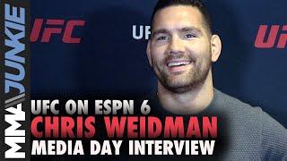 UFC Boston: Chris Weidman full media day interview