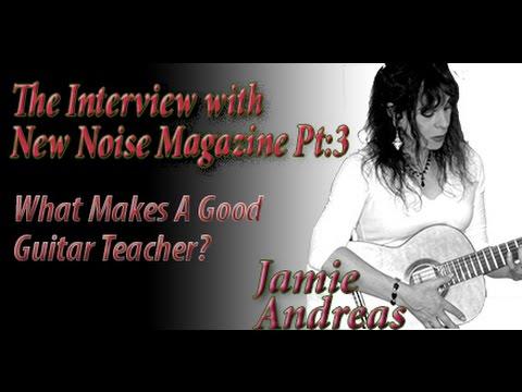 What Makes A Good Guitar Teacher?