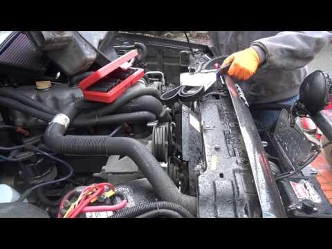 Jeep 4.0 Inline 6 Serpentine Belt Replacement