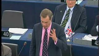 Farage: What gives you the right to dictate to the Greek and Italian people?