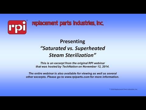 Saturated vs Superheated Steam Sterilization