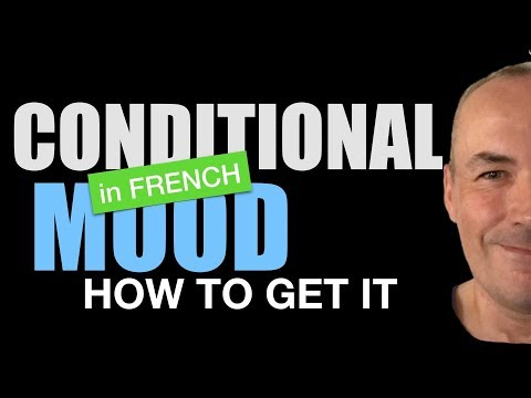 How to get French conditional mood