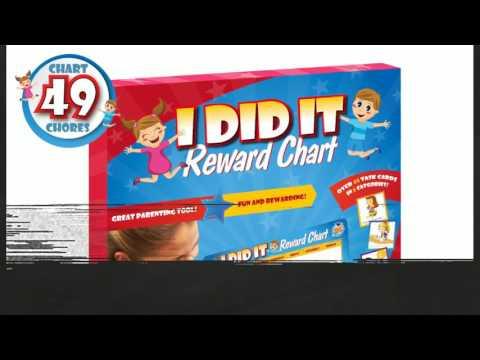 Kids Reward Chores Chart from Learn & Climb