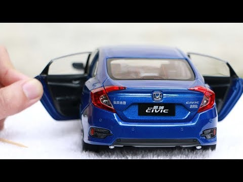 Unboxing of Honda Civic 2017 1:18 Scale Diecast Model Car