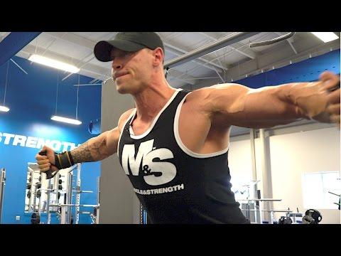Build A Bigger Chest!  Anton Antipov's Striated Chest Workout