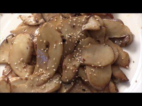 King Oyster Mushrooms Stir-Fry