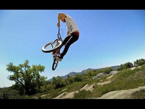 Very stunning Big Jump on BMX Bicycle