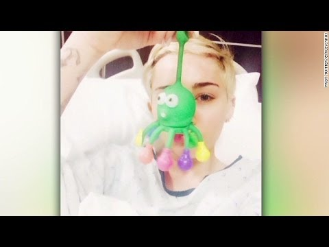 Miley Cyrus hospitalized for severe allergic reaction to antibiotics, Tour canceled
