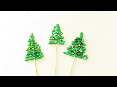 EASY royal icing Christmas trees - alberi di Natale in ghiacchia reale FACILI