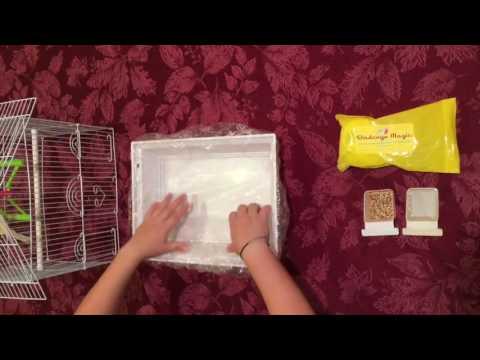 Birdcage Magic Disposable Bird Mess Liner-Demo