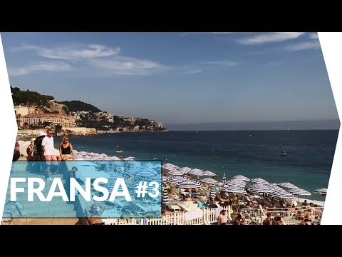 Fransa'nın En Ünlü Cote D'azur Sahillerini Gezdim | Cannes - Nice