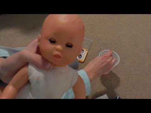 Reborn Artist? Painting A Baby Doll