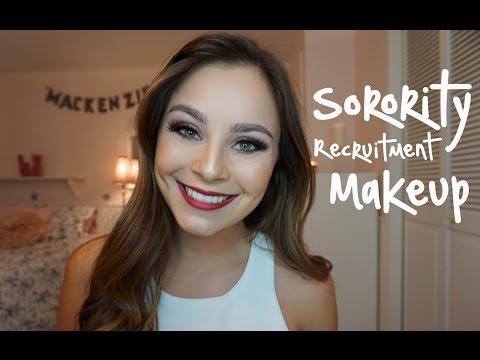 Sorority Recruitment Makeup | Rush Tips